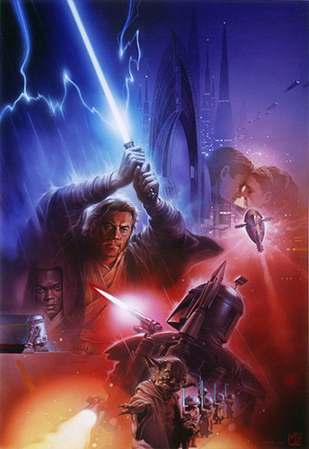 Attack Of the Clones Art