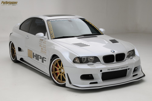 bmw E46 M3 TURBO por HPF