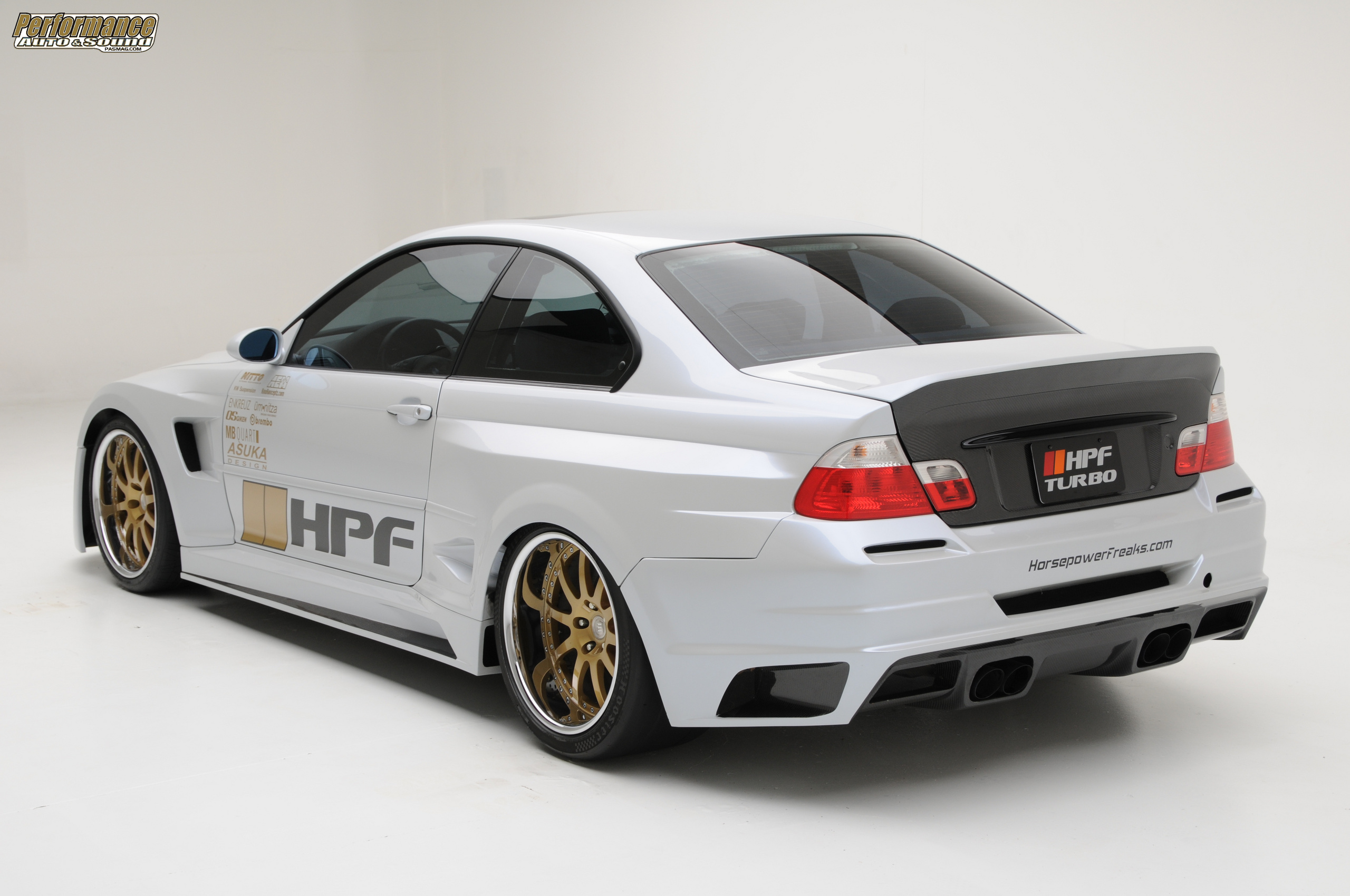 BMW BMW E46 M3 TURBO BY HPF