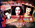 Bella Jacob & Edward love