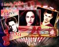 Bella Jacob & Edward love