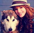 Bella Thorne and her dog! - bella-thorne-official-fan-club photo