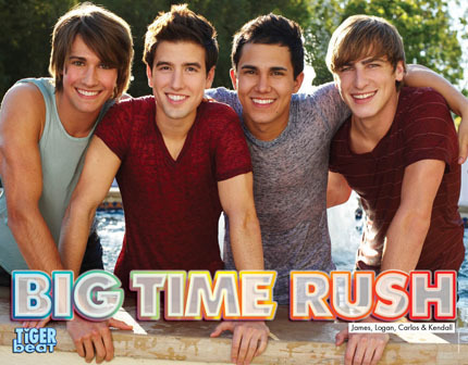 Big time rush!