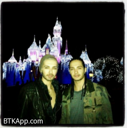 Bill and Tom in disneyland