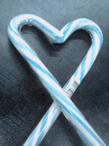 Blue Candy Cane