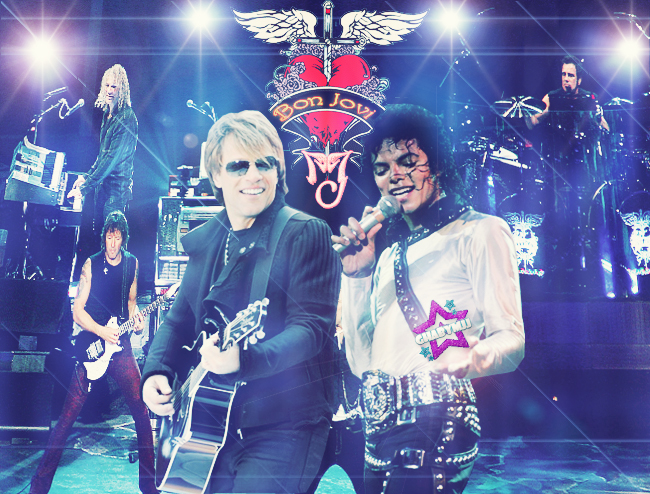 Bon Jovi and Michael Jackson
