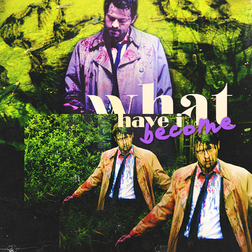 Castiel wallpaper probably containing Anime titled Castiel