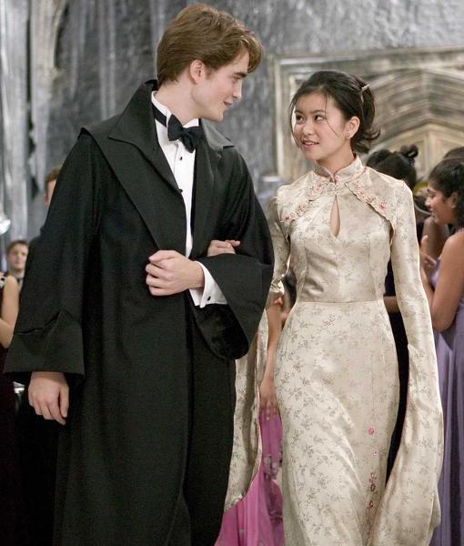 Cedric Diggory and Cho Chang