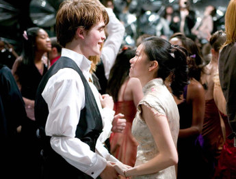 Cedric Diggory and Cho Chang