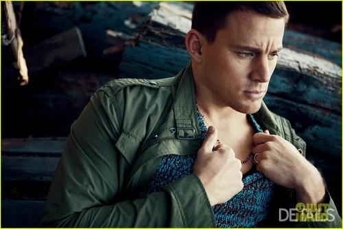 Channing Tatum Covers 'Details' February 2012