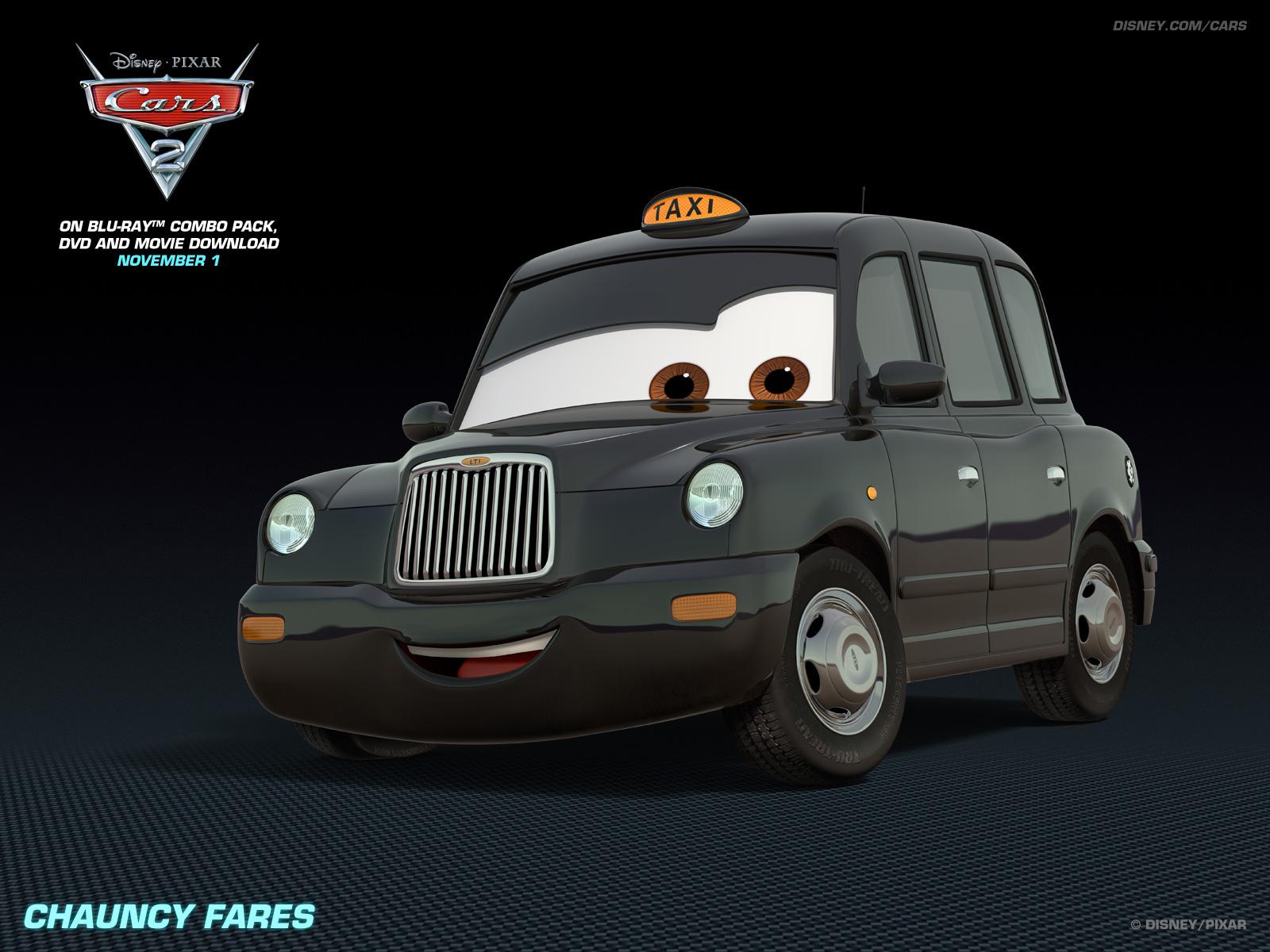 Disney pixar cars 2 chauncy fares