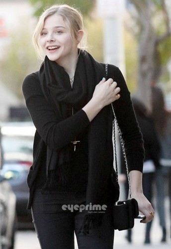 Chloe Moretz & Jansen Panettiere spotted out in Hollywood