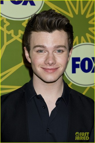Chord Overstreet & Chris Colfer: rubah, fox All-Star Party with 'Glee' Guys!
