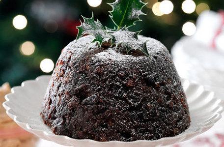 Weihnachten pudding