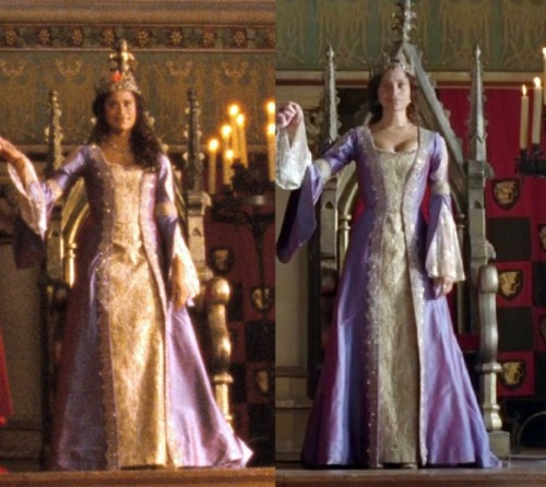 Arthur and Gwen wallpaper called Coronation Dress Analysis (4)