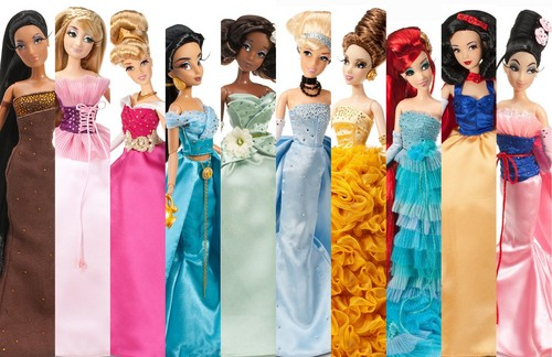 disney Collection Doll Collage