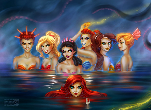 Disney mermaids