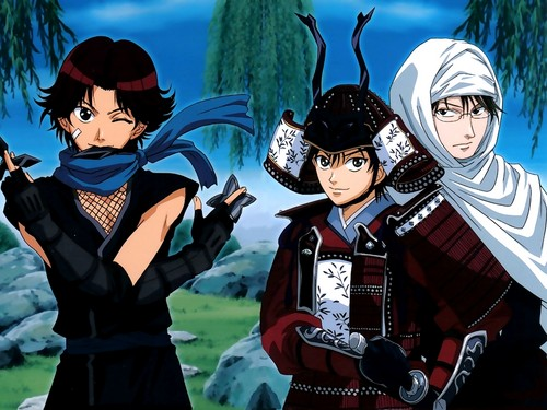 Eiji, Kunimitsu and Ryoma