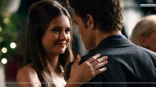 Elena And Stefan dancing
