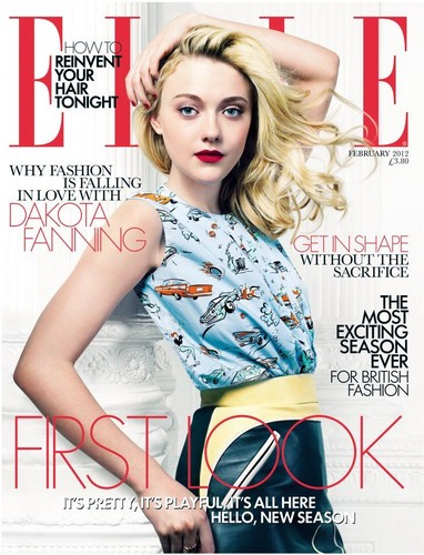 Elle Magazine Cover 2012