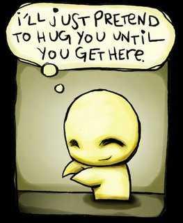 Emo hug