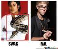 Epic fail justin  - michael-jackson photo