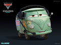 Fillmore - disney-pixar-cars-2 wallpaper