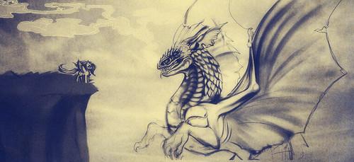 Fluttershy vs. Dragon