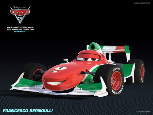Disney Pixar Cars 2 wallpaper called Francesco Bernoulli