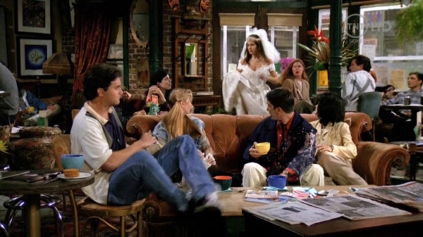 Friends, Episode I: The One Where Monica Gets a Roommate