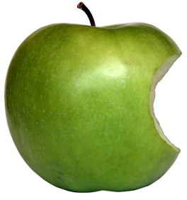 Green maçã, apple