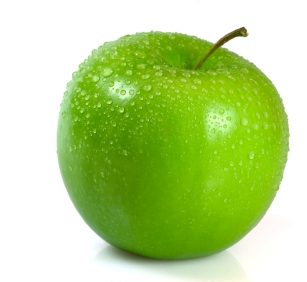 Green apfel, apple