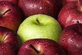 Green pomme