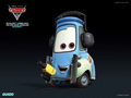 Guido - disney-pixar-cars-2 wallpaper