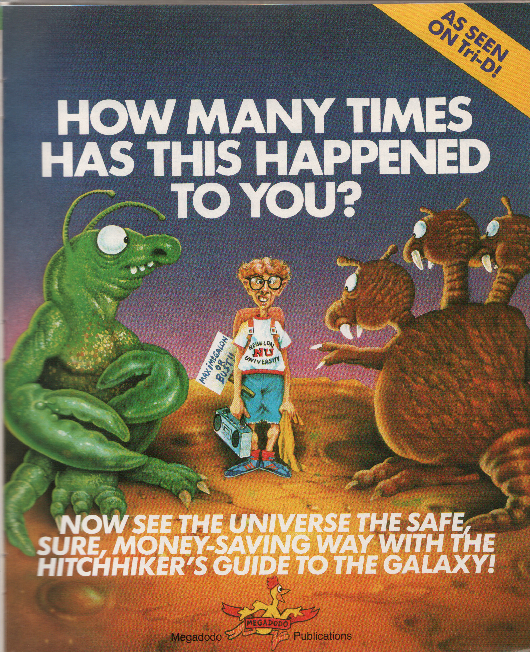 HHGG computer game funny package images