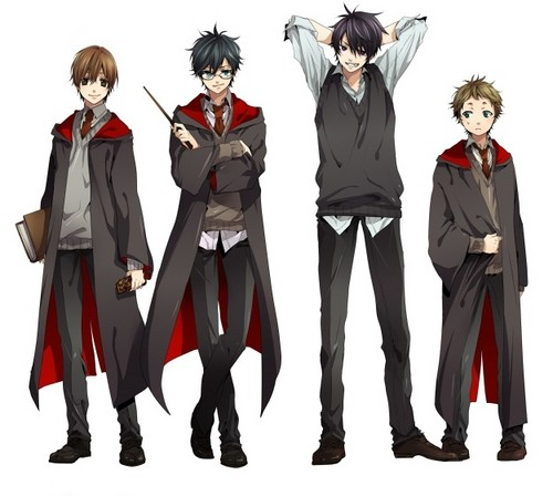 Harry Potter kertas dinding probably with a well dressed person and a business suit called Harry Potter Anime