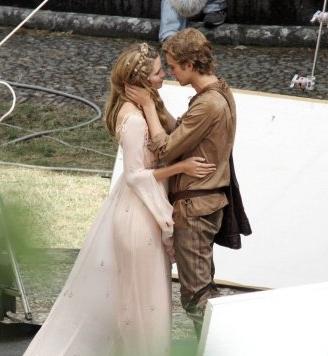 Hayden Christensen achtergrond with a bridesmaid called Hayden Christensen