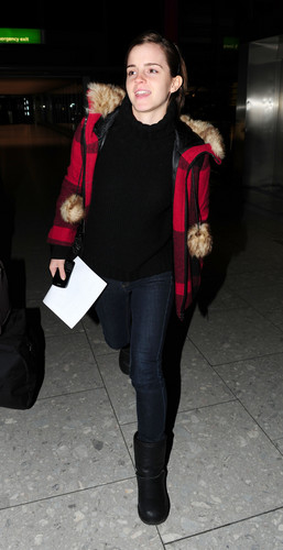 Heathrow Airport - January 7, 2012