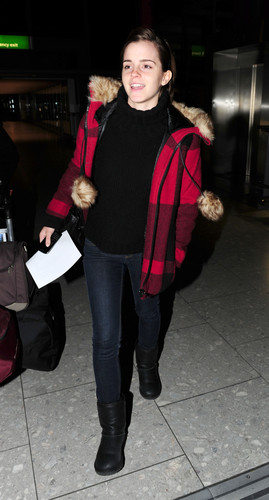 Heathrow Airport - January 7, 2012