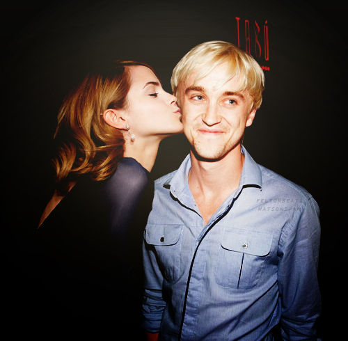 Hermione & Draco ( Emma & Tom )