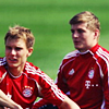 FC Bayern Munich photo titled Holger and Toni.