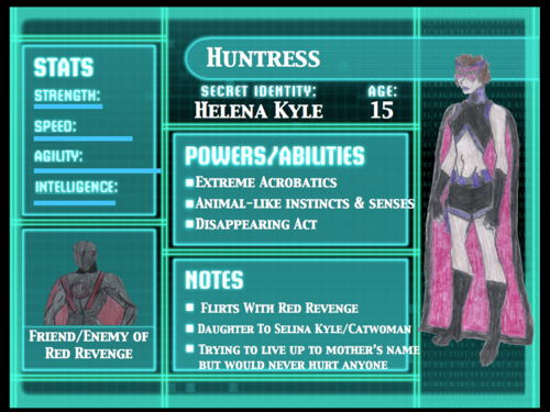 Huntress Info