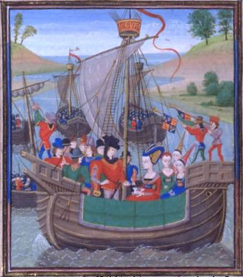 Isabella of France invades England - history Photo