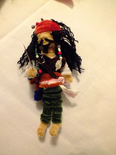 Jack Sparow doll - pirates-of-the-caribbean Fan Art