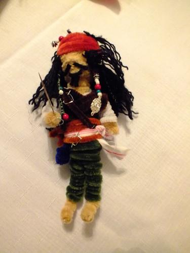 Jack Sparow doll