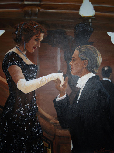 Titanic wallpaper entitled Jack and Rose Painting