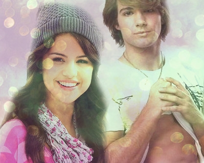 James Maslow and Selena Gomez