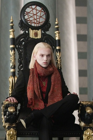 Mortal Instruments wallpaper containing a throne called Jaime Campbell Bower(Jace) in New Moon