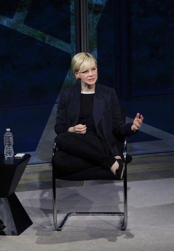 Jan 08 NY Times Arts & Leisure Weekend - TimesTalks With Carey Mulligan