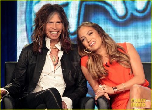 Jennifer Lopez: 'American Idol' TCA with the Judges!